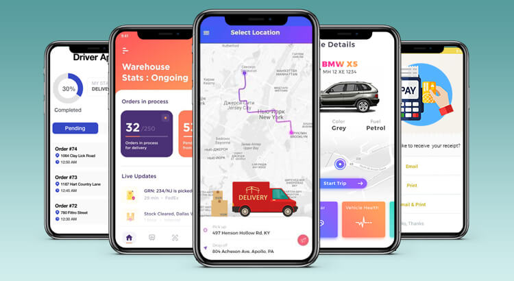 Types of Logistics App