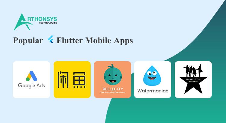 Popular Flutter Mobile Apps