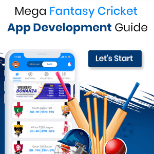 Mega Fantasy Cricket App Development Guide
