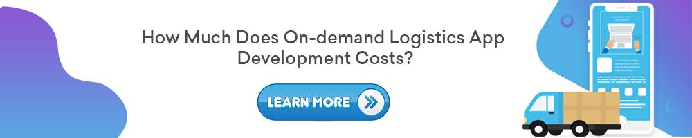 On-demand Logistics App Development